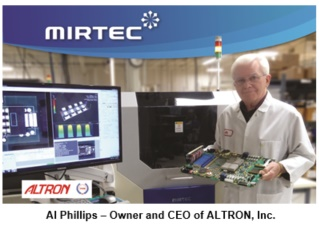Altron Partners with Mirtec to Provide Total Quality 3D AOI